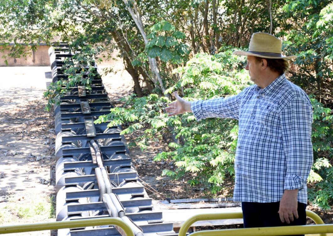 Projeto irrigação Sampaio