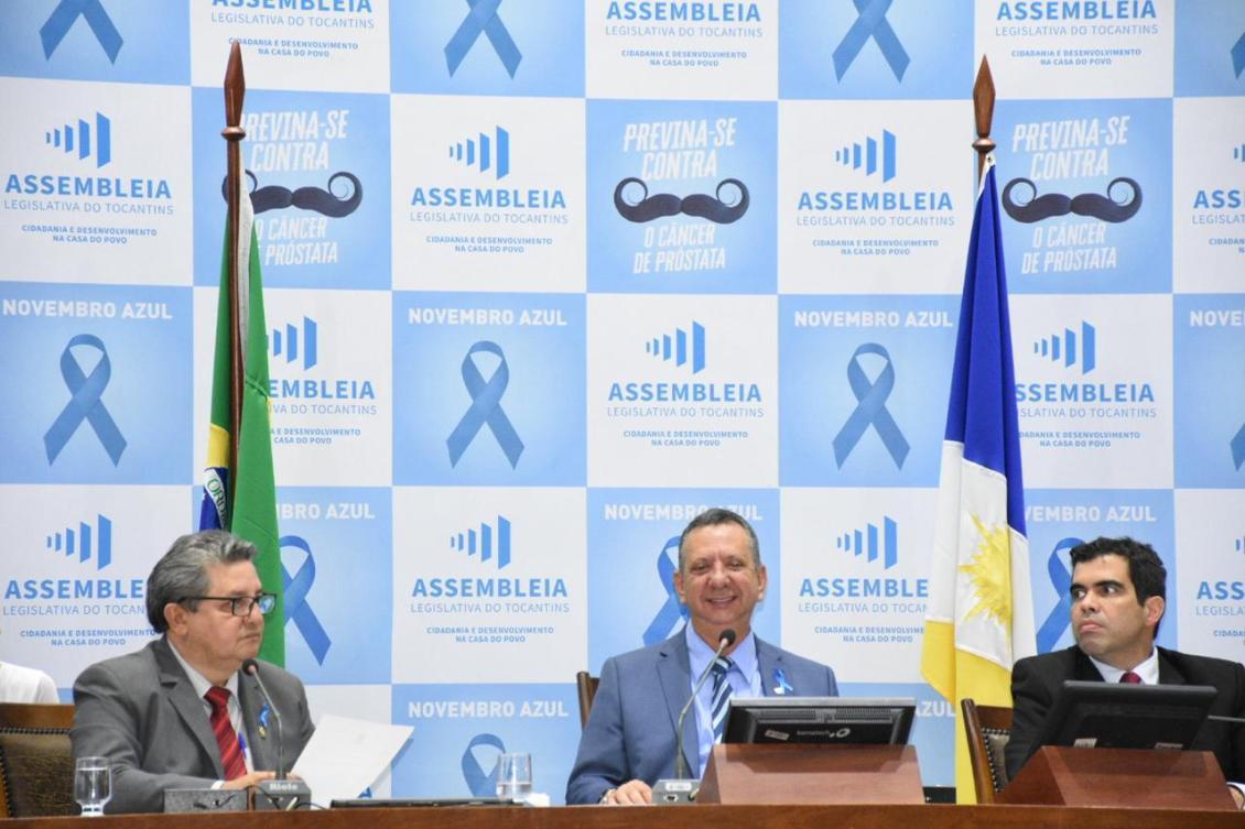 Antonio Andrade durante sessão ordinária