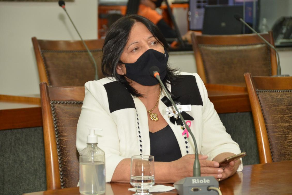 Deputada Valderez Castelo Branco