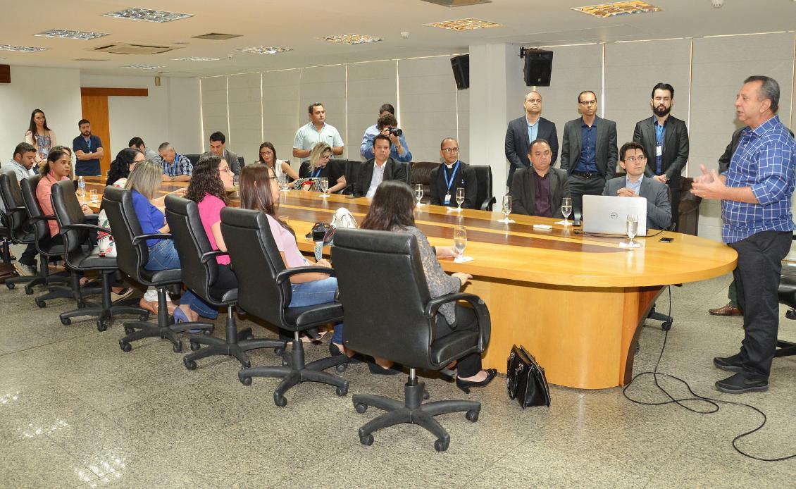 Presidente Antonio Andrade fala da importância do novo Portal para o cidadão.