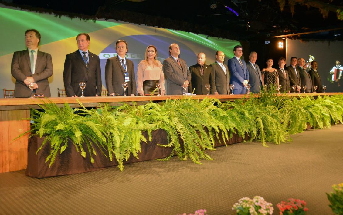 A Conferência conta com a participação de deputados estaduais de todos os estados brasileiros