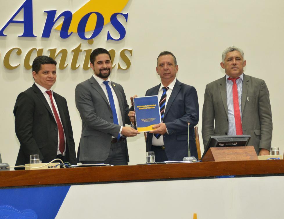 Mensagem foi lida por chefe da Casa Civil, Rolf Vidal