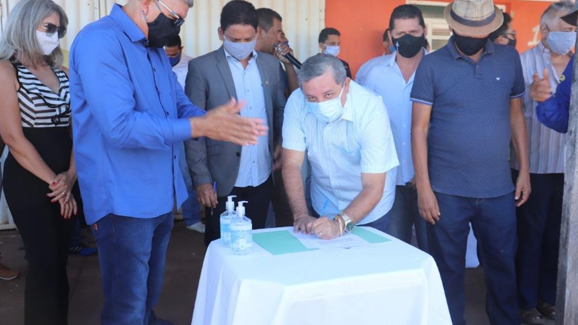 Jair Farias destina emenda de R$ 100 mil para Buriti