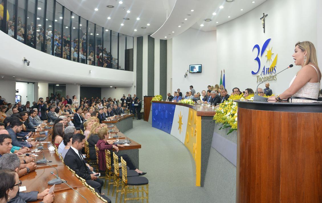 Luana destacou a necessidade do controle das contas do Estado