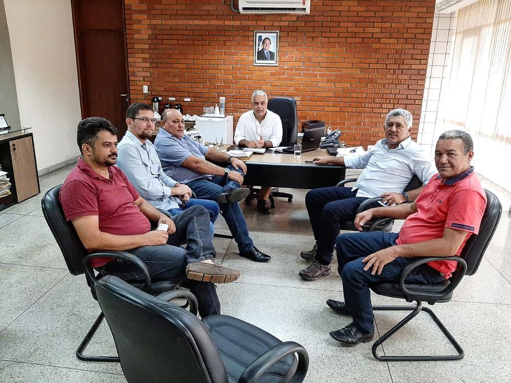 Assunto foi discutido durante reunião na sede do Terratins