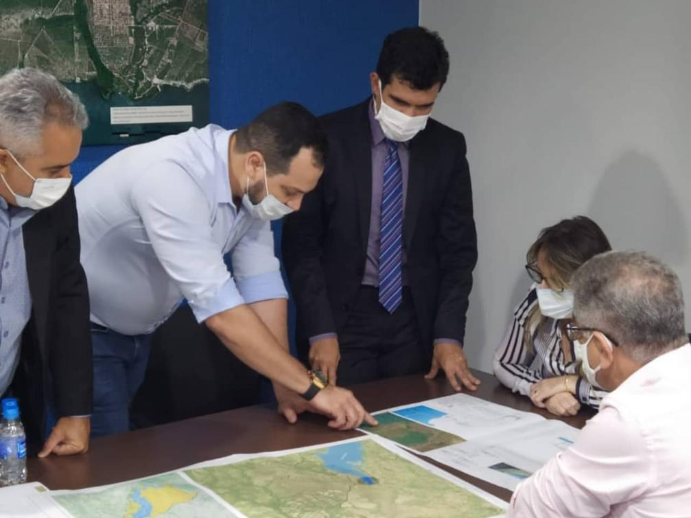 Reuniões importantes pela agilidade dos projetos no Lago Manuel Alves