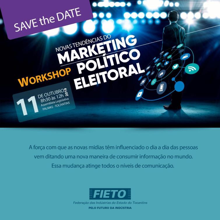 Workshop será realizado na sexta-feira