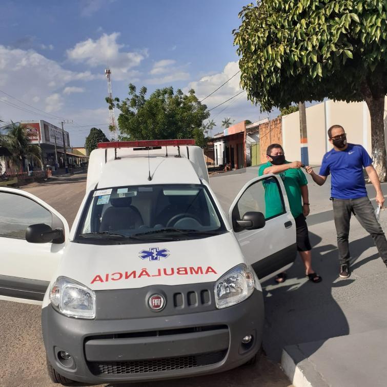 Emenda destinada por Fabion garante compra de ambulância para Esperantina