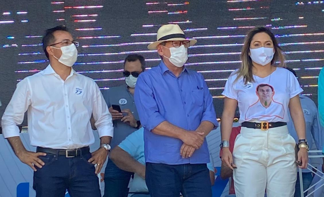 Luana Ribeiro reforçou seu apoio à candidatura de Wagner Rodrigues.