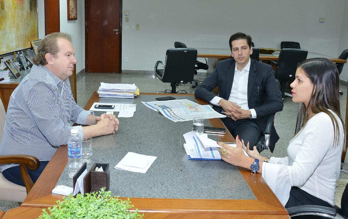 Reunião aconteceu na sala da Presidência