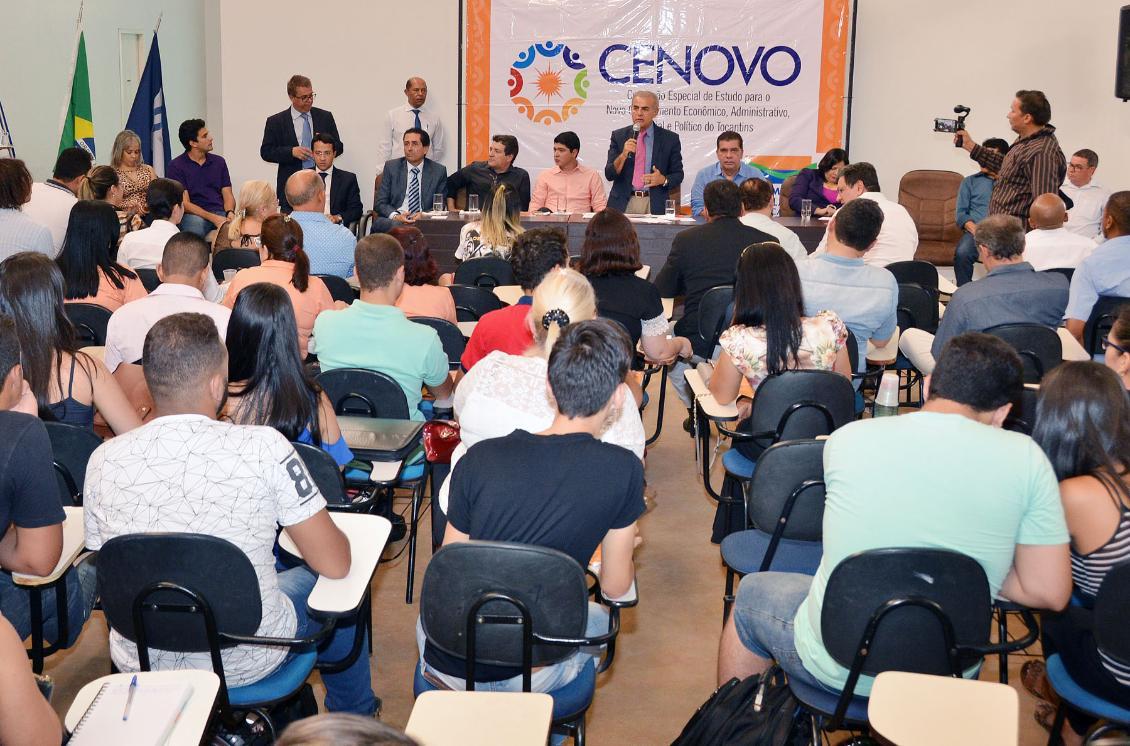 Evento reuniu inúmeros universitários