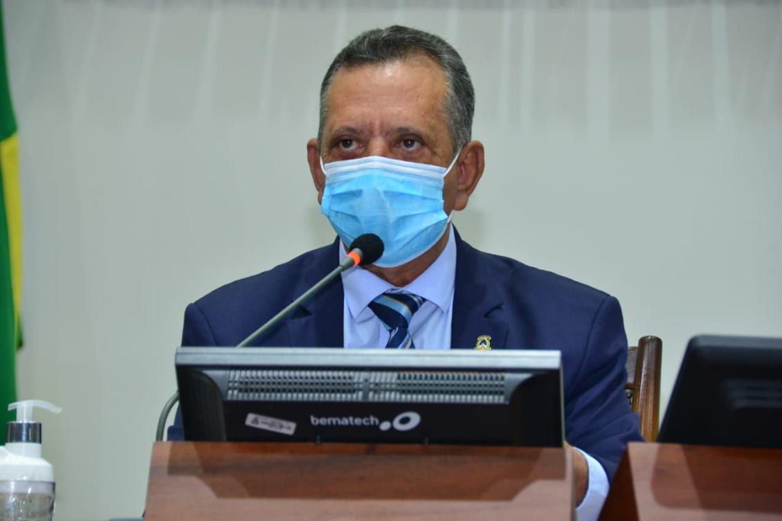Antonio Andrade e demais membros da Mesa fizeram o encaminhamento