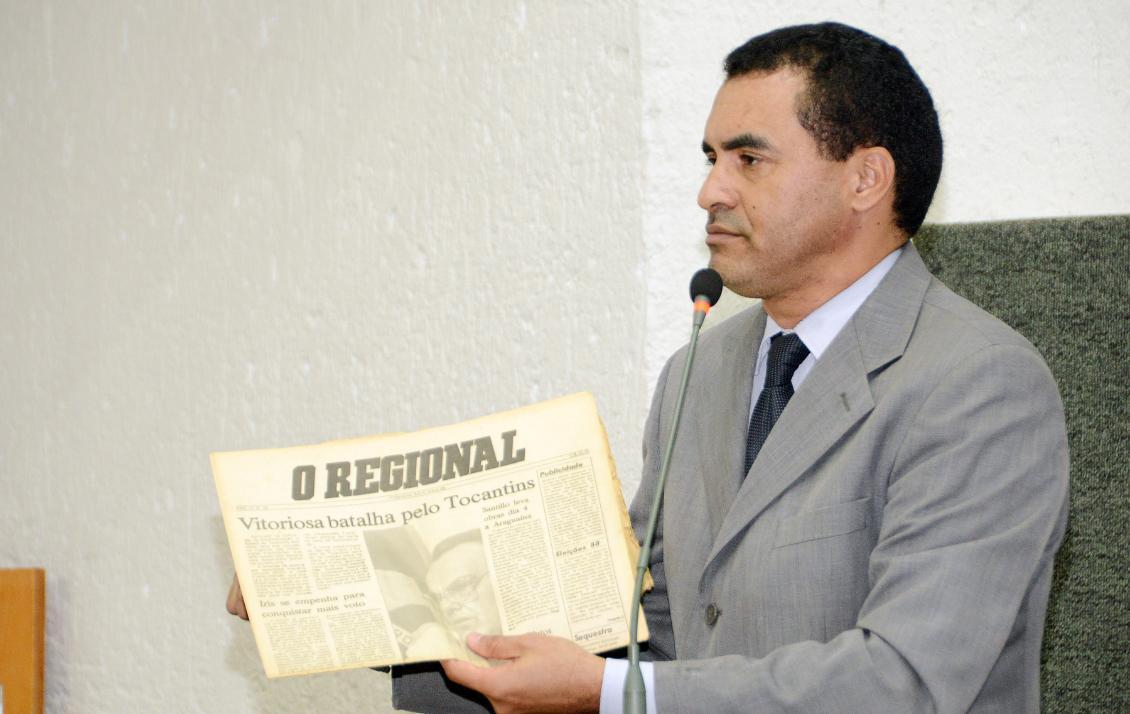 O deputado é autor do projeto que denomina trecho da TO-050 de Rodovia Governador Henrique Santillo