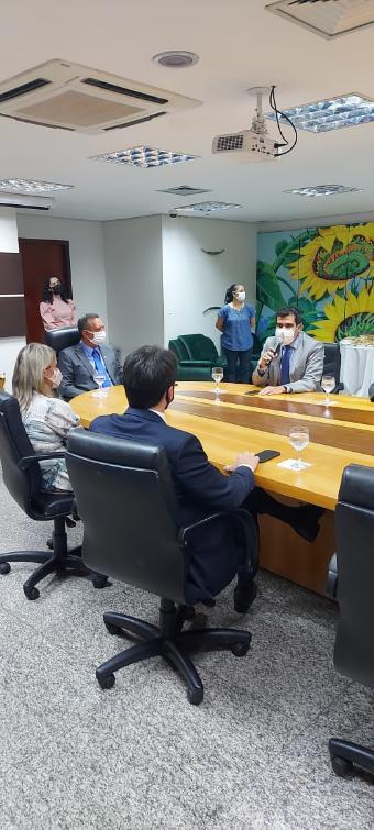 Ayres é vice-presidente da região norte na Unale e destacou a importância da entidade