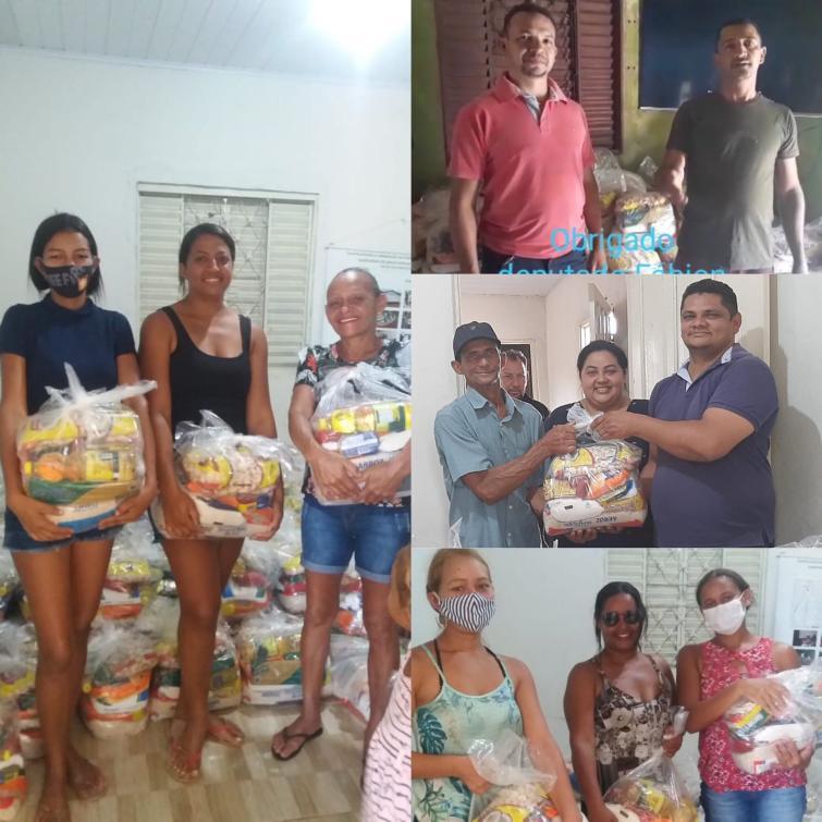 As entregas ocorreram nos dias 15 e 16 de setembro, respectivamente, e irão beneficiar 400 famílias.