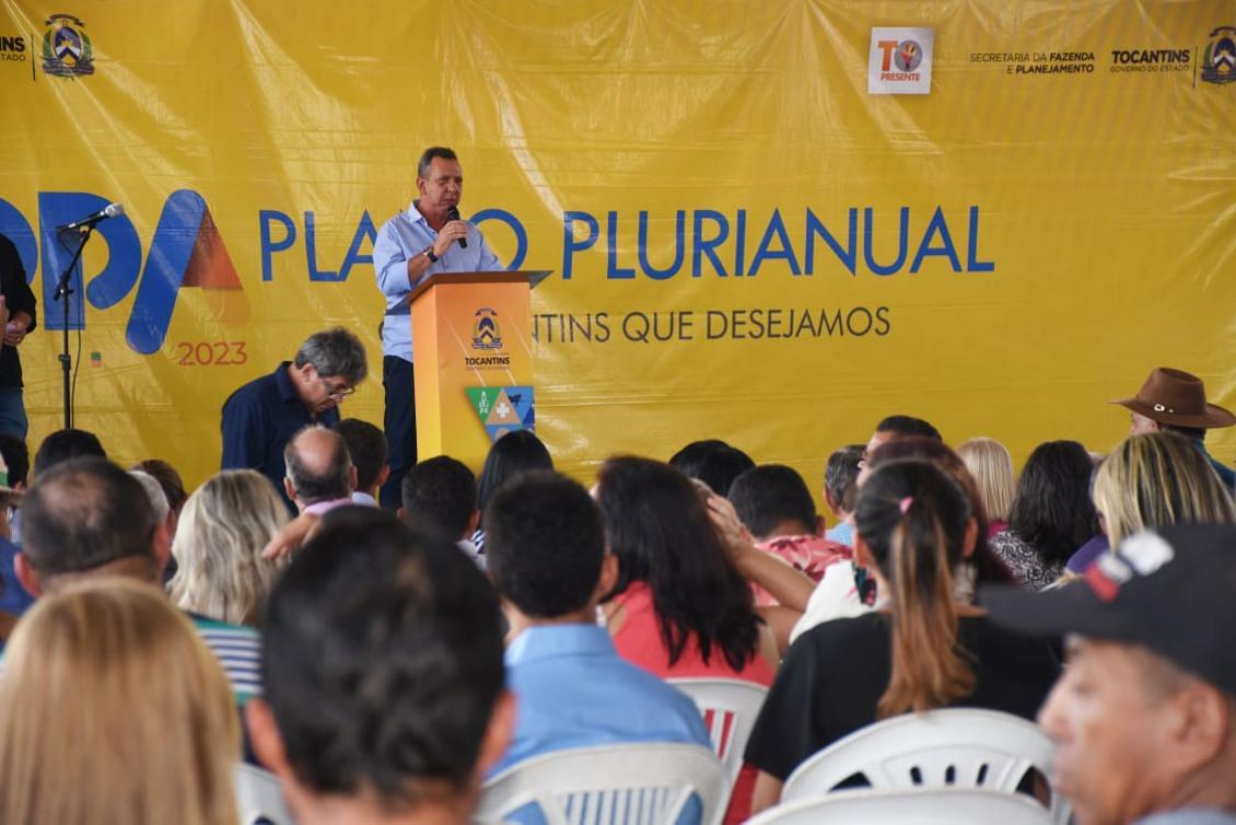 Antonio Andrade apresenta sugestões ao PPA em Paraíso