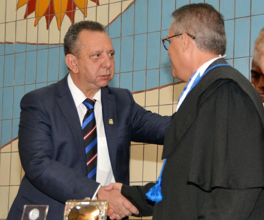 Governador Mauro Carlesse também prestigiou solenidade