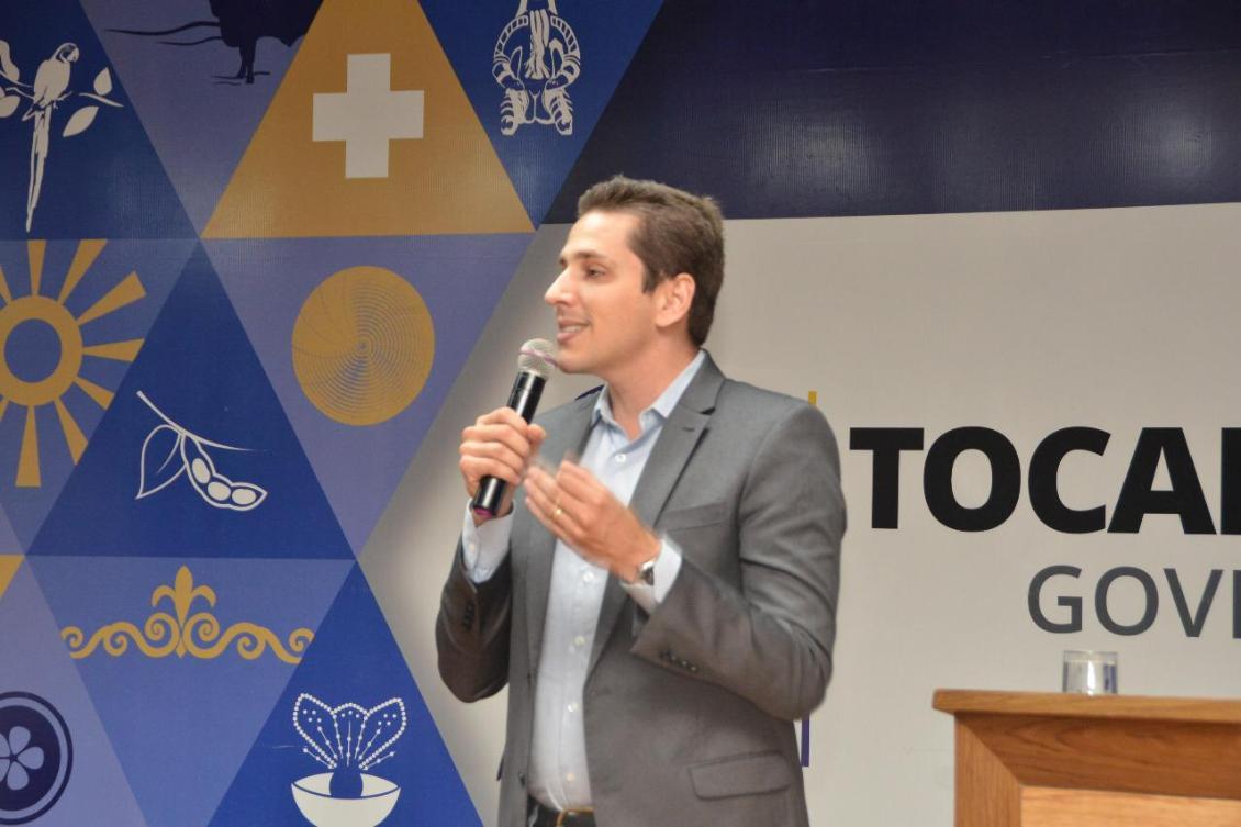 Olyntho discute com Nabhan regularização fundiária em terras da união no Tocantins