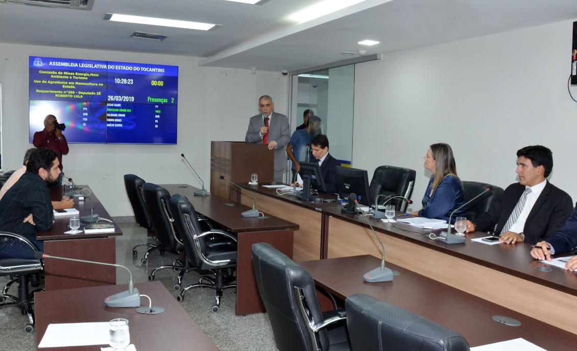 Debate foi proposto pelo deputado Zé Roberto