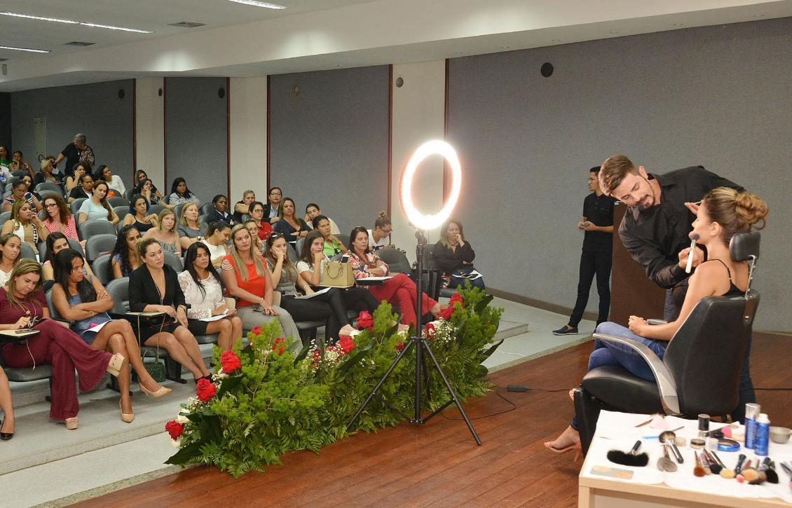 Toda a programação contou com a presença da deputada Luana Ribeiro