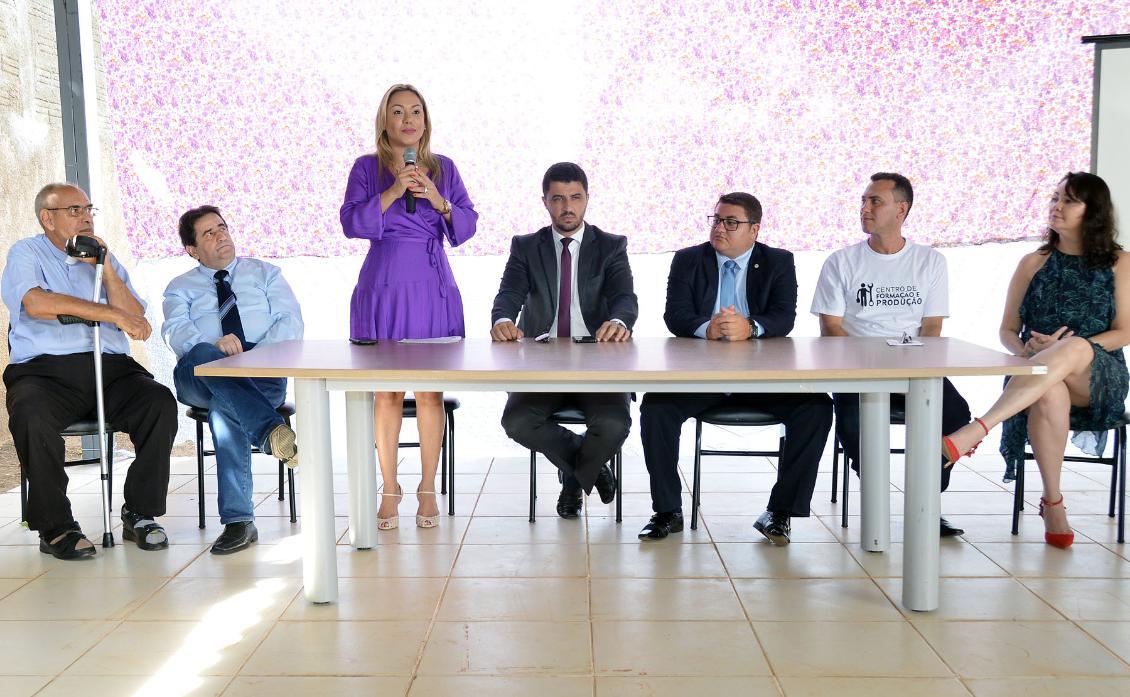 O Centro está em sintonia com um projeto da deputada Luana Ribeiro