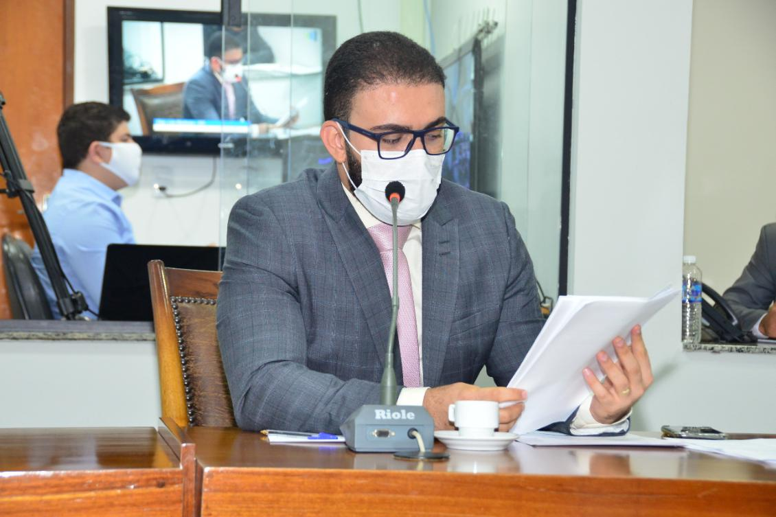 O parlamentar também solicitou reforço do policiamento no município de Ponte Alta do Bom Jesus