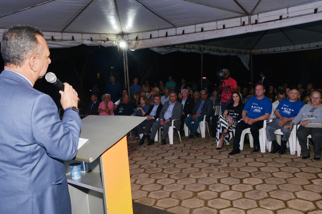 Presidente diz que vai reinaugurar em breve o prédio pioneiro onde funcionou o Poder Legislativo
