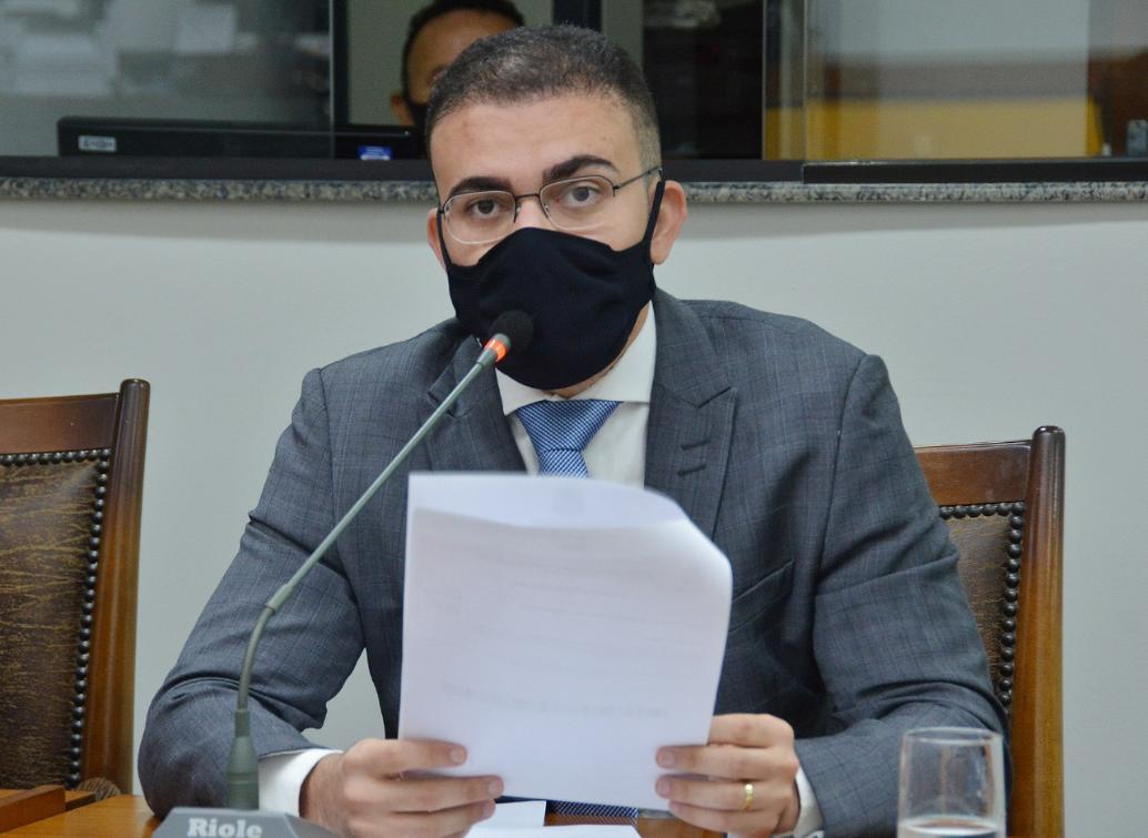 Léo Barbosa fez a solicitação durante a sessão desta terça-feira (06)
