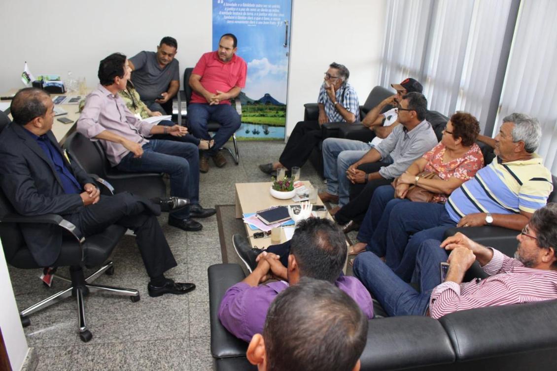 Associação dos Avicultores Centrais do Tocantins pediu apoio a Nilton Franco