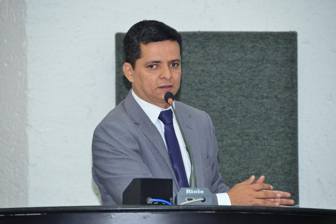 Jorge Frederico na tribuna