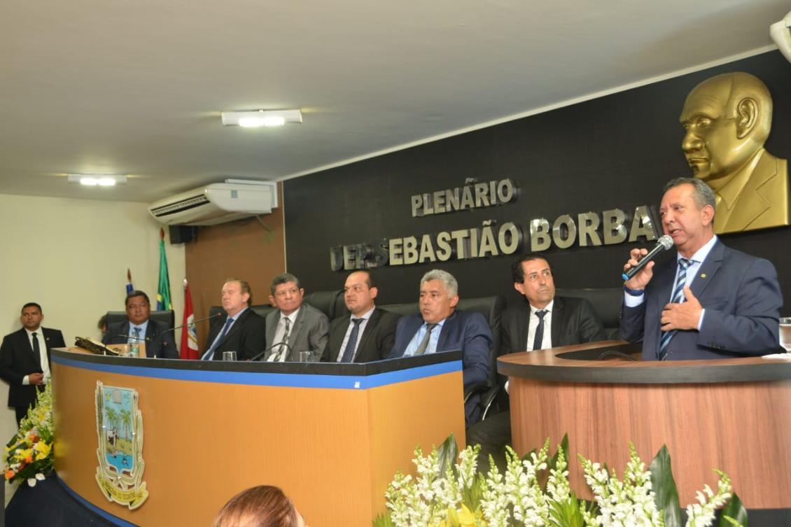 Antonio Andrade destacou a importância das homenagens