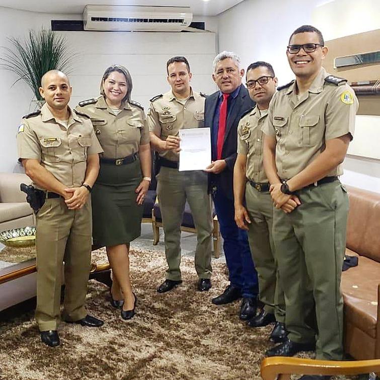 Cleiton Cardosa defende intercâmbio entre a PM do Tocantins e a polícia da Espanha