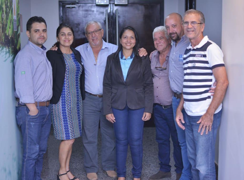 Vanda Monteiro ainda destacou a participação no processo de intalação da empresa em Colméia.