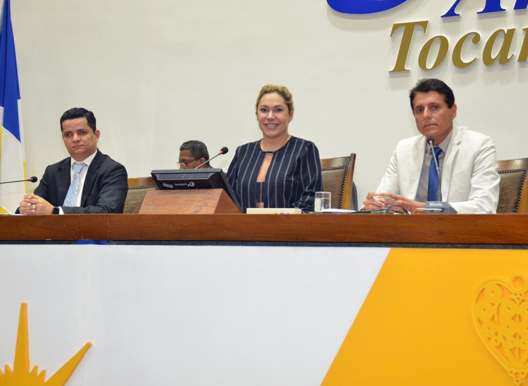 Luana destacou atuação de deputados, equipe técnica e servidores