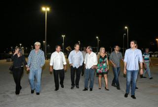 Local foi visitado por várias autoridades