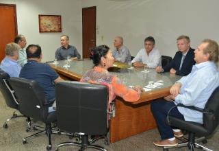 Deputados garantiram apoio aos empresários
