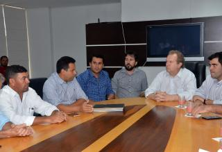 Reunião com o governador foi motivada por visita de líderes da região