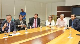 Vice-governador participou da reunião